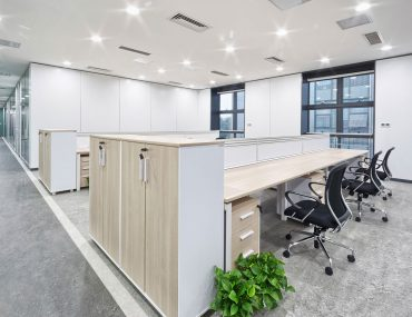 clean office environment