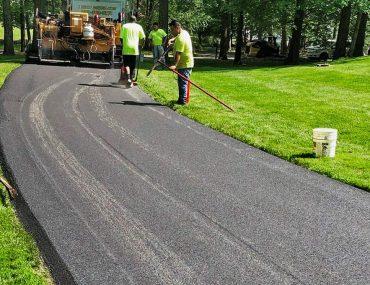 asphalt driveway repair