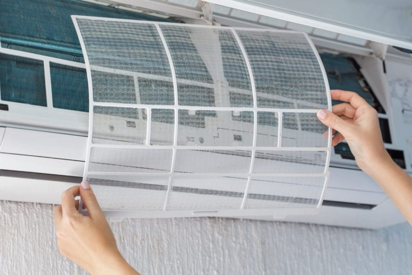 air conditioner parts and functions